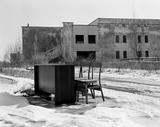 Abandoned building with furniture, Pripjat